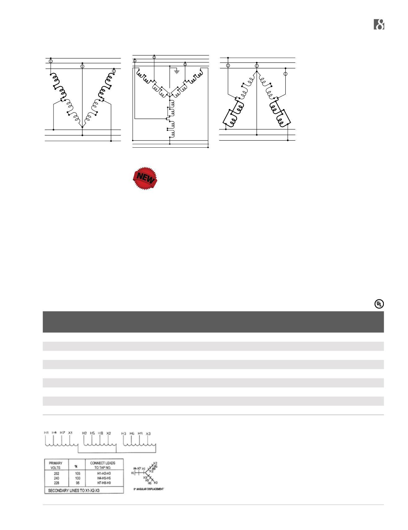 acme catalogAcme Open Delta Wiring Diagram #14
